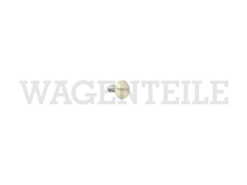 070 908 255 F Flachrundschraube Aufstelldach, Gepäckwanne (M6x16)