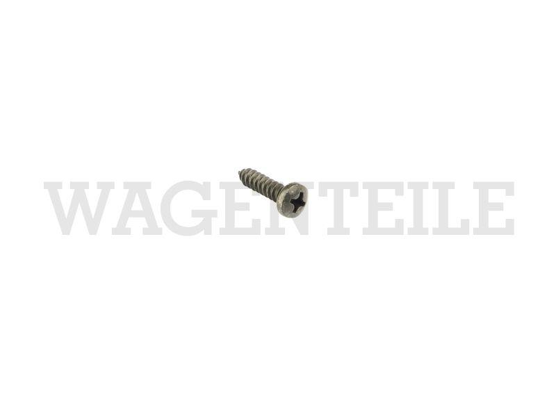 070 914 255 E Linsenblechschraube Einstiegsleiste Schiebetür (B4,8x16) schwarz