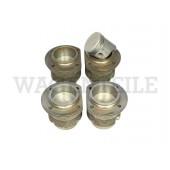 198 057 111 F /4 Satz Kolben/ Zylinder 77mm 1200, KG-Bohrung 90, (Kolben flach)