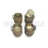 198 065 311 DX /4 Satz Kolben/ Zylinder 83mm (14 Rippen)