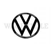 853 601 211 E sw Hersteller-Emblem schwarz